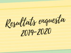 Resultats enquesta 19-20